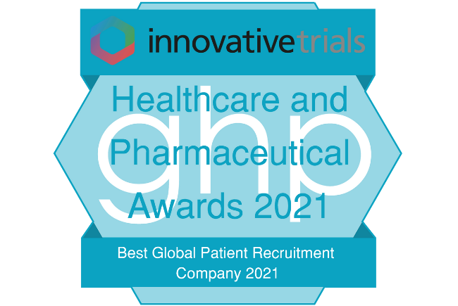 2021 Healthcare and Pharmaceutical Awards Winners Logo